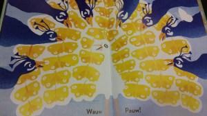 prentenboek wauw pauw
