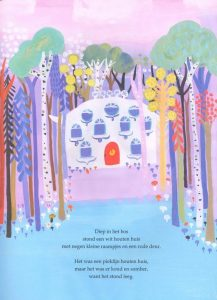 prentenboek diep in het bos