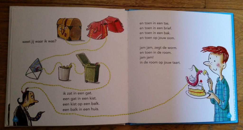 avi boek worm van freek