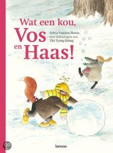 prentenboek wat een kou vos en haas