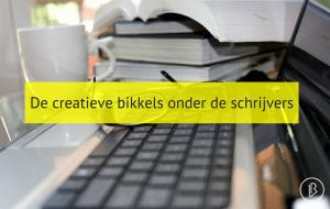De creatieve bikkels onder de schrijvers