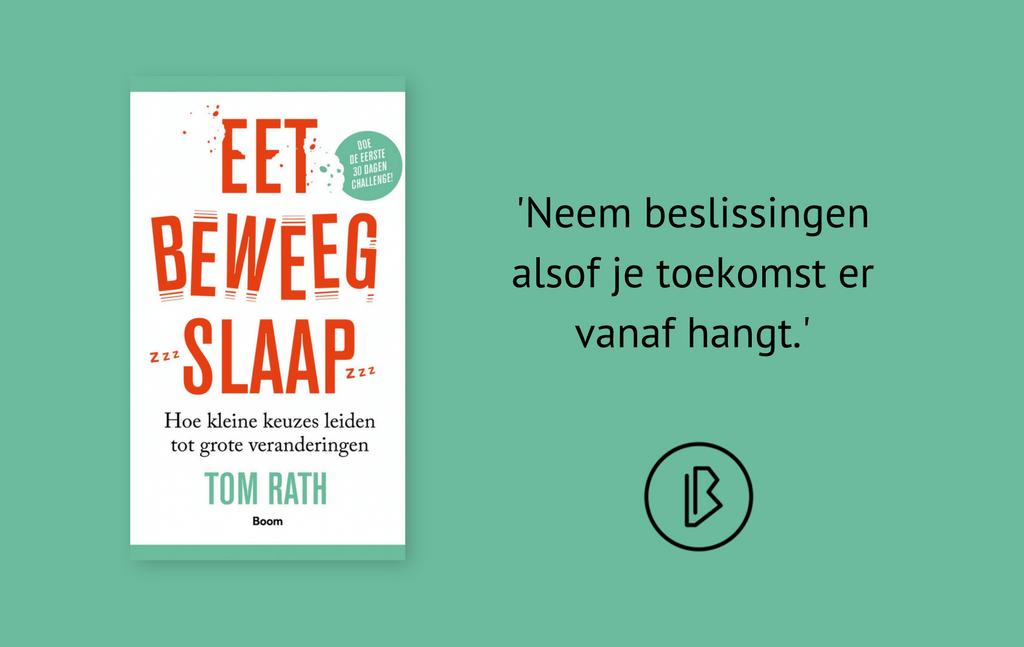 Recensie: Tom Rath – Eet, beweeg, slaap