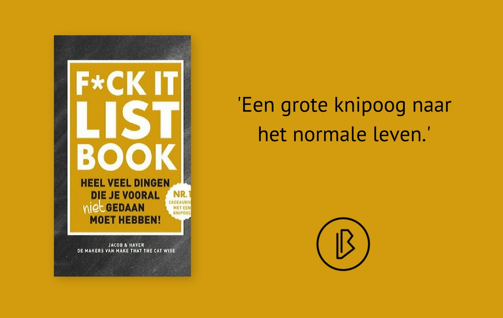 Recensie: Jacob & Haver – F*ck it list book