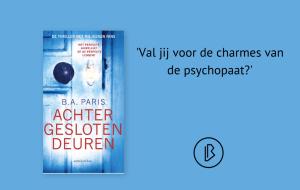 Recensie: B.A. Paris – Achter gesloten deuren