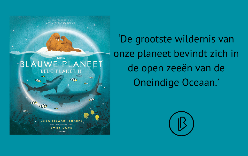 Recensie: Leisa Steward-Sharpe – Blauwe planeet (Blue planet II)