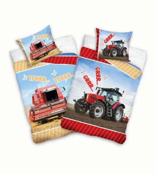 6c9413f9a35 Traktor/Mejetærsker vendbart sengesæt