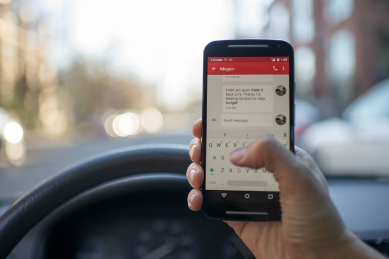 cell phone auto accidents