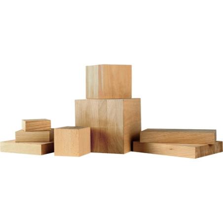 socle de presentation en bois massif support de sculpture