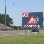 Waarschuwingsborden voor snelheidscontroles verdwijnen