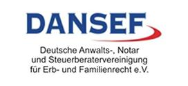 Mitglied im DANSEF Logo externe Website Link
