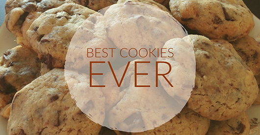 Cookies crousti-fondants aux 3 chocolats