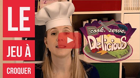 Vignette video Youtube de presentation de Cook Serve Delicious