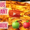 Image de presentation de la video de la recette du gateau aux pommes invisible