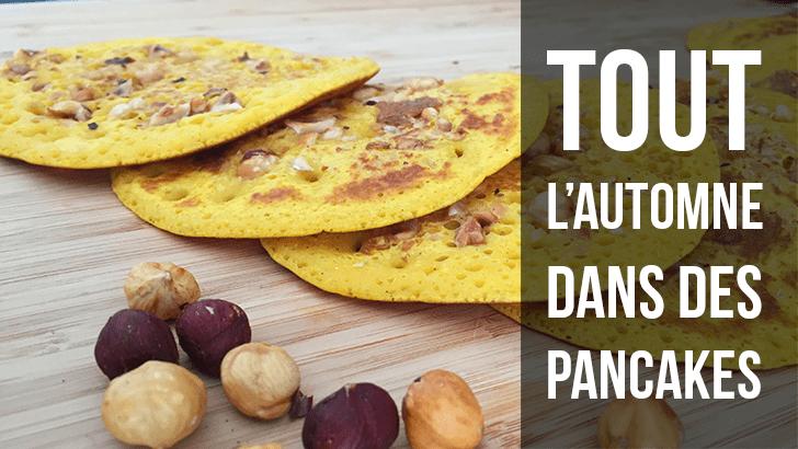Pancakes d'automne à la courge Butternut et aux noisettes – Battle Food #54