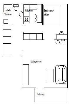 Mappa della casa numero 2