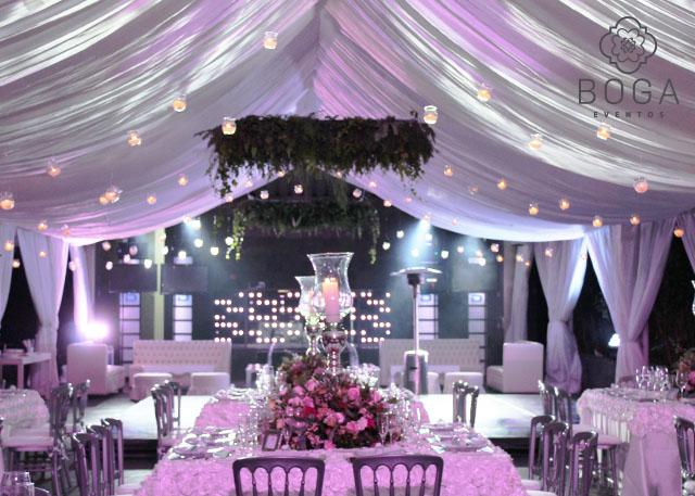 Decoracin bodas  Organizacin de Eventos  Boga Eventos