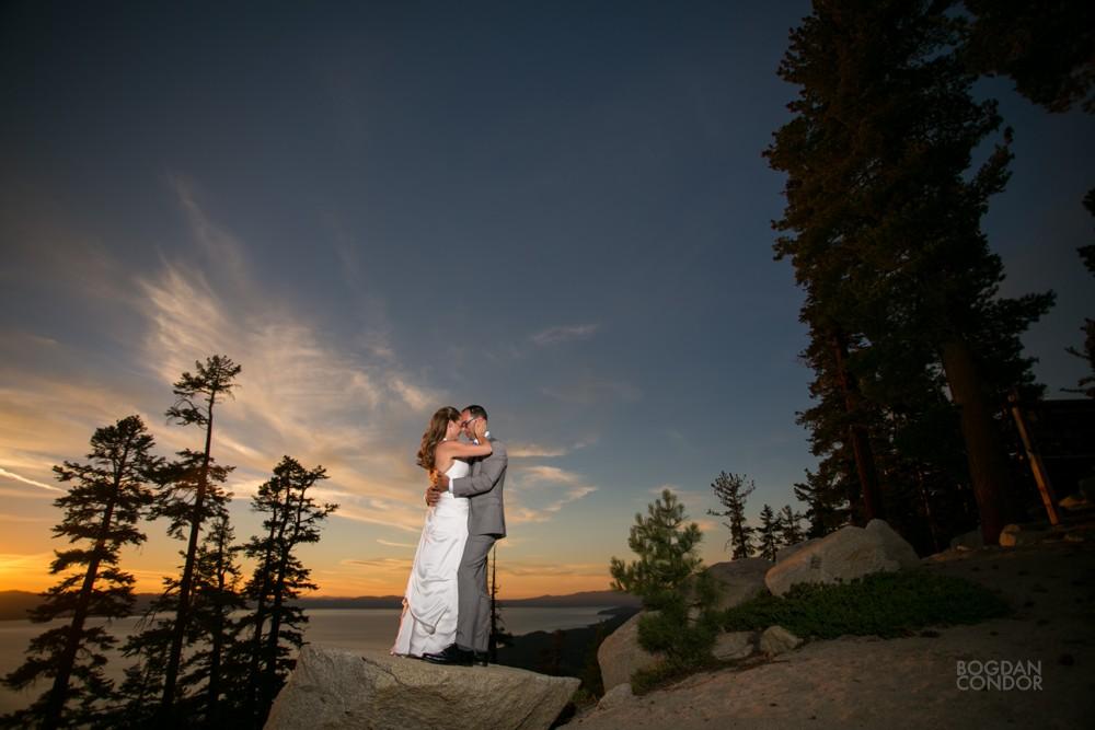 Heavenly Lake Tahoe Wedding  Nicole and Theo  Sacramento Wedding Photographer
