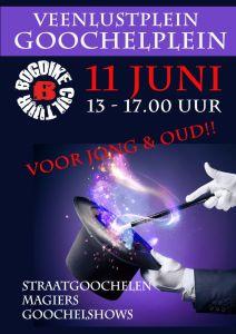 Zaterdag 11 juni 2016 Goochelen in Veendam