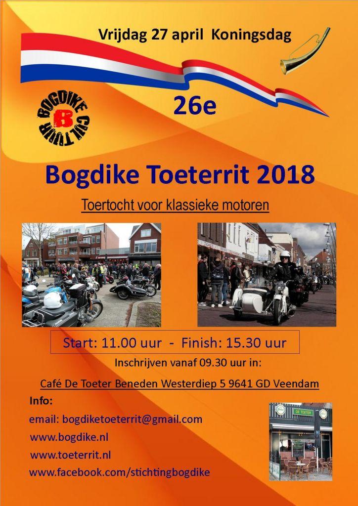 Bogdike zet traditie Toeterrit Veendam voort