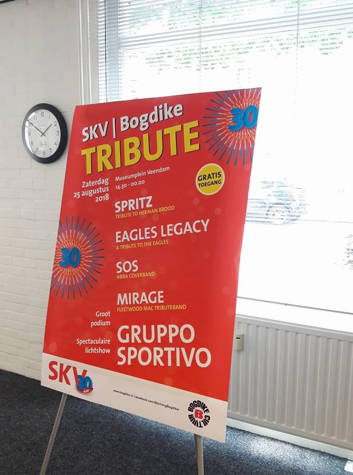SKV / Bogdike Tribute met groots muziekfestijn in centrum Veendam
