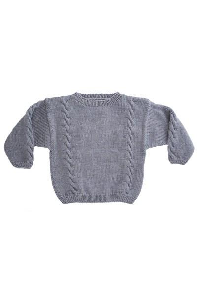 Sweater med snoninger