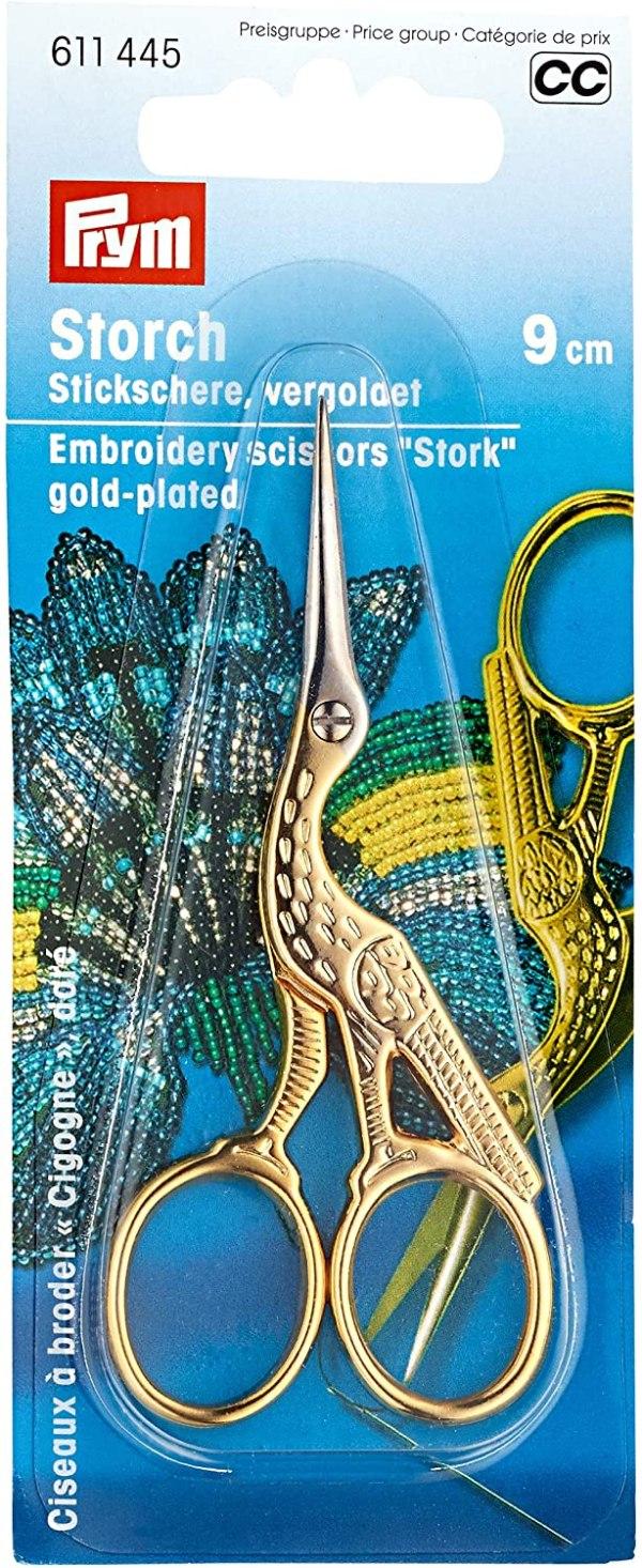 Storkesaks fra PRYM - guld