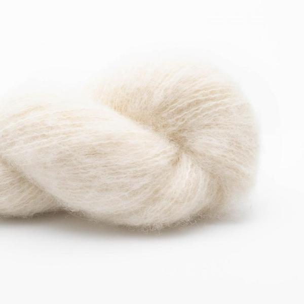 BC Garn   Brushed Baby Alpaca Naturlig hvid - ufarvet