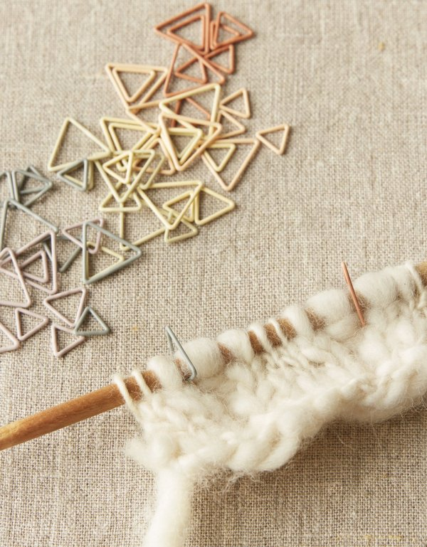 Triangle Stitch Markers | Cocoknits