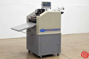 Count Numbermatic M121 Perf Slit Score Numbering Machine w/ Two Numbering Heads