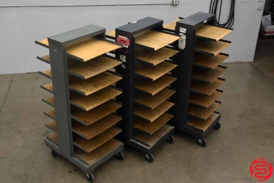 Bindery Paper Cart - Qty 3 - 110419020629