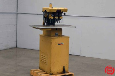 Challenge EH-3 Three Spindle Hydraulic Paper Drill - 011620105550