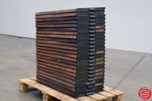 Ludlow Letterpress Cases - Qty 24 - 022020010820