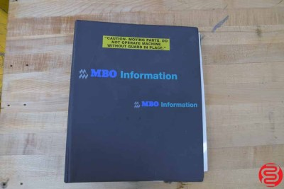 MBO B120 Pile Feed Paper Folder