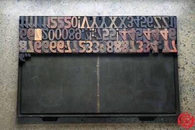 Assorted Letterpress Wood Type - 022220085355