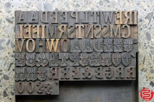 Assorted Letterpress Wood Type - 1 - 032520091620