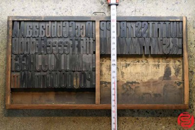 Assorted Letterpress Wood Type - 3 - 032520092940