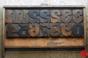 Assorted Letterpress Wood Type - 5 - 032520085340