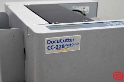 Duplo DocuCutter CC-228 Business Card Slitter - 031320022550
