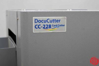 Duplo DocuCutter CC-228 Business Card Slitter - 031320090955