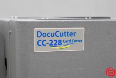 Duplo DocuCutter CC-228 Business Card Slitter - 031420092745