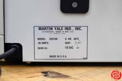 Martin Yale EX-5100 Express Tabber - 031720020550