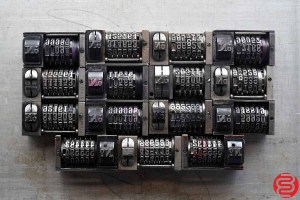 Numbering Machines - Qty 15 - 022520091430