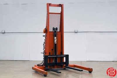 Presto PS262-50 Power Lift Straddle Stacker - 031020124350