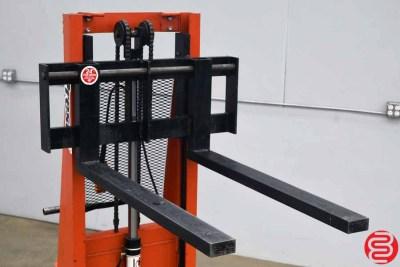 Presto PS262-50 Power Lift Straddle Stacker - 031220123255