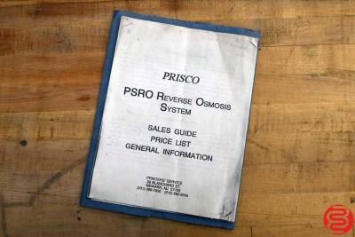 Prisco Tech AquaFlo Reverse Osmosis System - 030420122835
