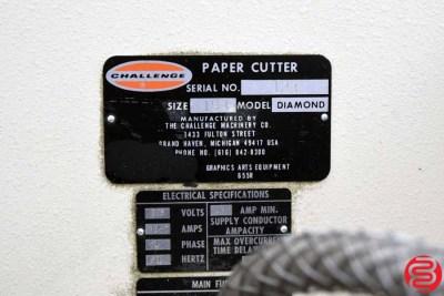 Challenge Diamond 193 - 19.3 Paper Cutter - 042120075440