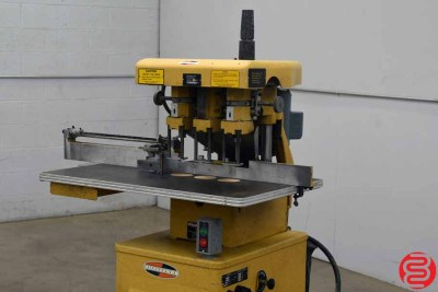 Challenge EH-3 Three Spindle Hydraulic Paper Drill - 040620112540