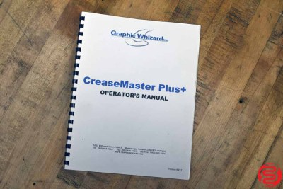 Graphic Whizard Creasemaster Plus Vacuum Feed Impact Creaser - 041720122940