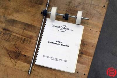 Graphic Whizard FM250 Vacuum Feed Paper Folder - 042320090430