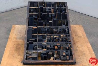 Hamilton Letterpress Furniture Cabinet - 051220100230